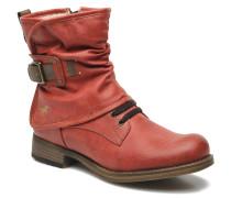 Masya Stiefeletten & Boots in rot