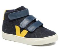 Esplar Mid Small Velcro Sneaker in blau