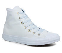 Chuck Taylor All Star Mono Glam Canvas Color Hi W Sneaker in weiß