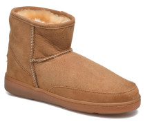 AnkleHi Sheepskin Pug Boot Stiefeletten & Boots in braun