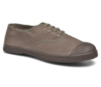 Tennis Lacets Vintage Velours M Sneaker in braun