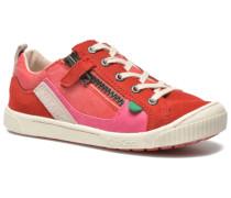 Zigzaguer Sneaker in rosa