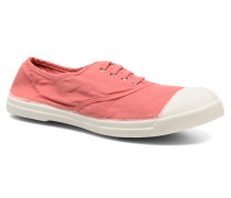 Tennis Lacets Sneaker in rosa