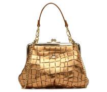 Armour Handbag Handtaschen für Taschen in goldinbronze