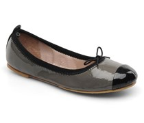 Girls luxury Ballerinas in grau