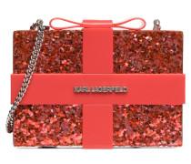 Minaudiere Valentine Handtaschen für Taschen in rot