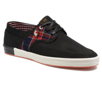 TEA PLAID MIX Sneaker in schwarz
