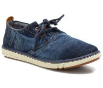Hookset Handcrafted Ox Sneaker in blau