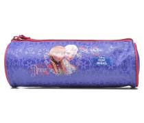 Trousse Reine des neiges Schulzubehör für Taschen in lila