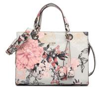 Serafina Satchel Floral Handtasche in grau