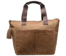 Mat&shinny tote Handtaschen für Taschen in braun