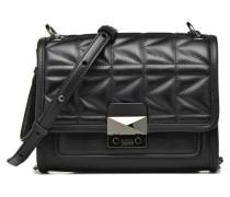 Kuilted Mini Handbag Handtaschen für Taschen in schwarz