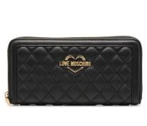 Portefeuille Super Quilted Portemonnaies & Clutches für Taschen in schwarz
