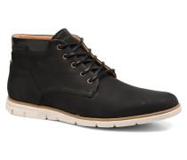 Shaft Mid Nubuck Stiefeletten & Boots in schwarz