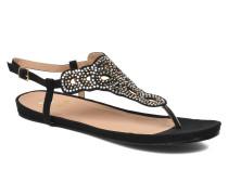 Perugina Sandalen in schwarz