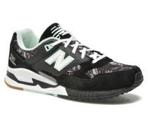 W530 Sneaker in schwarz