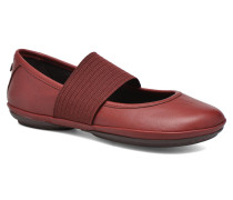 Right Nina 21595 Ballerinas in rot
