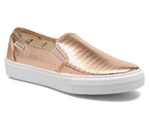 Slipon Metalizada Sneaker in rosa