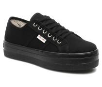 Blucher Lona Plataforma Sneaker in schwarz