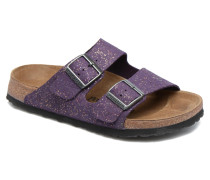 ARIZONA cuir nubuck Clogs & Pantoletten in lila