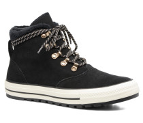Chuck Taylor All Star Ember Boot Suede + Fur Hi Stiefeletten & Boots in schwarz