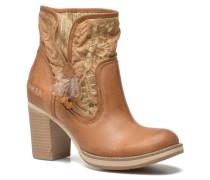 Grace Row Stiefeletten & Boots in braun