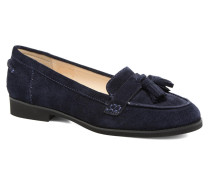 Amya Slipper in blau