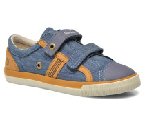 Glastenbury Hook & Loop O Sneaker in blau