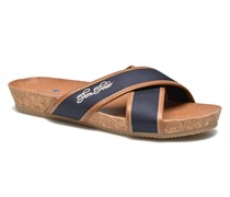 Clint Clogs & Pantoletten in blau