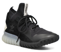 Tubular X Sneaker in schwarz