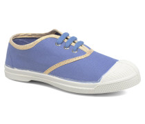 Tennis Lacets Shinypiping E Sneaker in blau