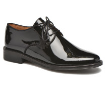 Newton verniz Schnürschuhe in schwarz