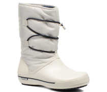 Crocband II.5 Cinch Boot W Stiefeletten & Boots in weiß