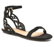 LILLYWHITE Sandalen in schwarz