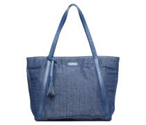Shopper Marilou Lin & Cuir Handtaschen für Taschen in blau
