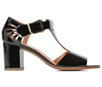 Square Simone #4 Sandalen in schwarz