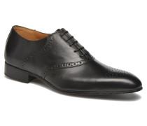 Newquay Schnürschuhe in schwarz