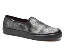 DOUBLE DECKER MET FAUX PONY Sneaker in schwarz