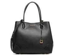 Cabas Mercer Gallery LG CENTER ZIP TOTE Handtasche in schwarz