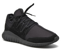 Tubular Radial Sneaker in schwarz