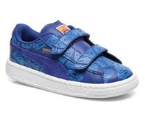 KIDS BASKET SUPERMAN. Sneaker in blau