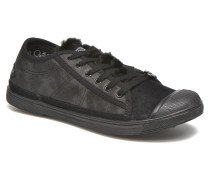 Basic 02 Sneaker in schwarz