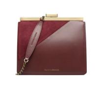 Crossbody Jeanne Handtaschen für Taschen in weinrot