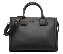 Klassik Tote Handtaschen für Taschen in schwarz