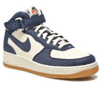 Air Force 1 Mid Sneaker in blau
