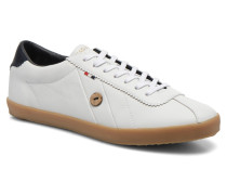 Spindle Leather Sneaker in weiß