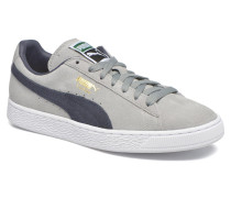 Suede Classic Sneaker in grau