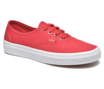 Authentic w Sneaker in rot