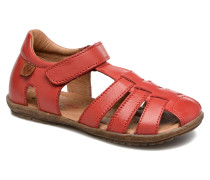 See Sandalen in rot