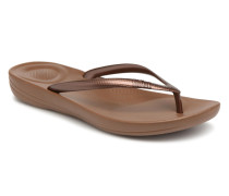 Iqushion Ergonomic Fipflop Zehensandalen in braun
